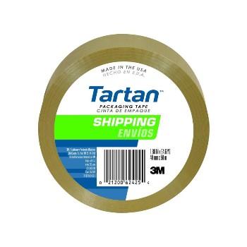 """3M 021200147661 Box Sealing Tape, Clear ~ 2"""" x 55m"""