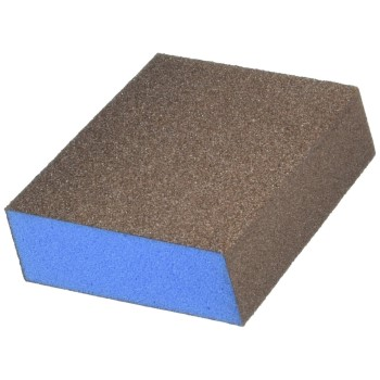 "Webb Abrasives 400020 Double Slant Sanding Sponge, Medium Grit ~ 3""x 5""x 1"""