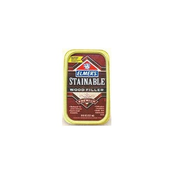 Elmer's E-890 Stainable Wood Filler, 8 ounce