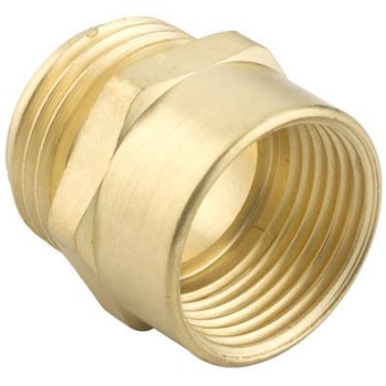 Brass Hose Connector ~ .75 MNH x .75 NPTF