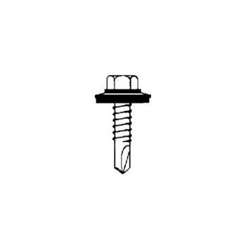 Sealtite 14B75D3HOGS 250 1/4-14x3/4in. 250pk #3 Tek Screw