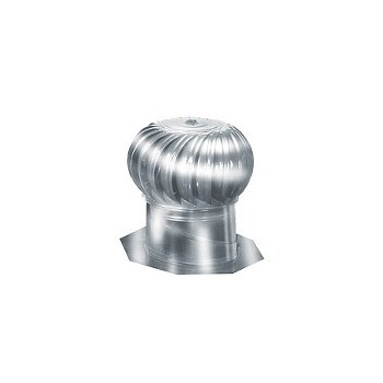 LL Bldg Prods AIC14 Rotary Turbine, Aluminum
