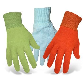 Children's Jersey Gloves ~ Fits  Most Ages 9-12 Years