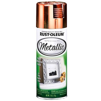 Rust-Oleum 1937830 Specialty Metallic Spray Paint,  Copper ~ 11 oz Cans