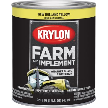 Krylon K02032000 2032 Qt New Holland Yellow