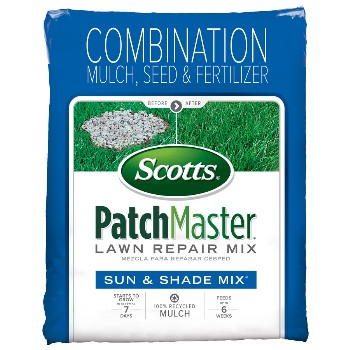 PatchMaster Sun & Shade Lawn Seed Mix