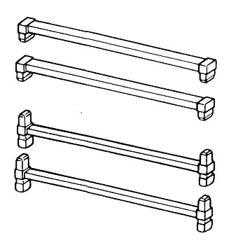 Stor-Drawer Medium Crossbars - Series #16