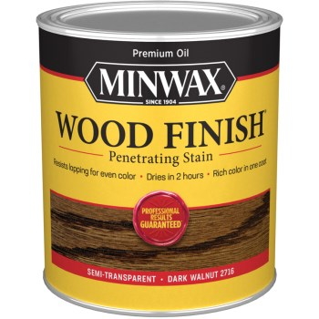 Wood Finish -  Dark Walnut, Quart
