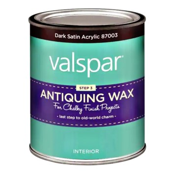 Chalky Paint Antiquing Wax,  Dark Satin~ Pint