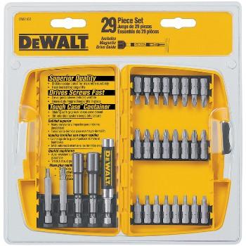 DeWalt DW2162 Screwdriving Set, 29 pieces