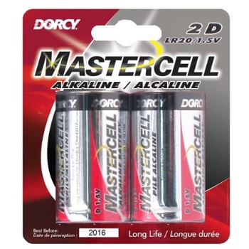 D 2pk Alkaline Battery