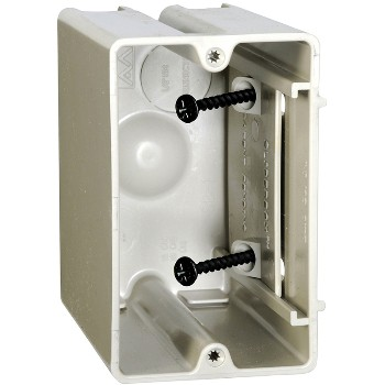 Allied Moulded Prods SB=1 Fiberglass Slider Box, 1G ~ Beige / Tan