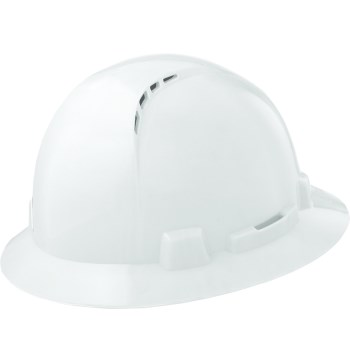 Hbfc-7w Wh Vented Hard Hat