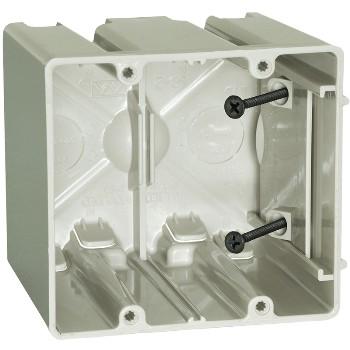 Allied Moulded Prods Sb=2 Fiberglass Slider Box, 2g ~ Beige / Tan