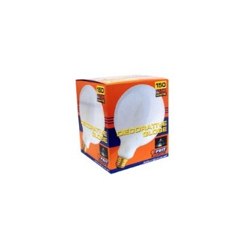 Light Bulb, Globe White 120 Volt 60 Watt