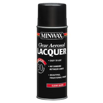 Lacquer, Clear Gloss  Aerosol ~ 12.25 oz Cans