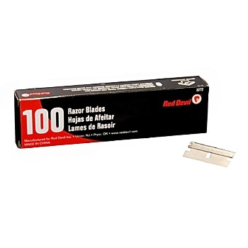 Razor Scraper Blades ~ Box of 100