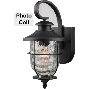 Wall Lantern Fixture, Photo Cell ~ 15 - 1/2""