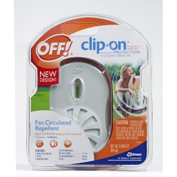 Off!  Brand Clip-on Mosquito Protection