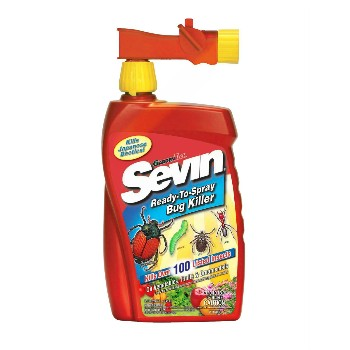 Sevin Bug Killer Ready to Spray  ~ 32 ounces