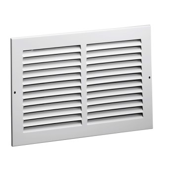Side Wall Return Air Grille, White