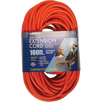 H Berger Co 150140 R3100 12/3 100ft. Or Outdr Cord