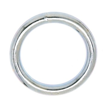 Welded Ring - Nickel Finish - 2""