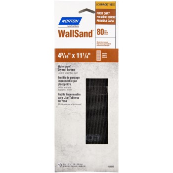 Wallsand Drywall Screen, 80 Grit