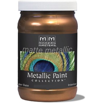 Matte Metallic Paint ~ Statuary Bronze, 6 oz