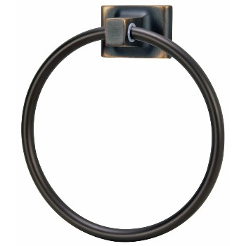 Towel Ring, Sunset Series -  Classic Bronze Finish