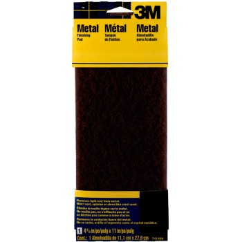 3M 051144074143 Sandpaper - Metal Finishing Pad ~ 4 3/8 x 11 inch