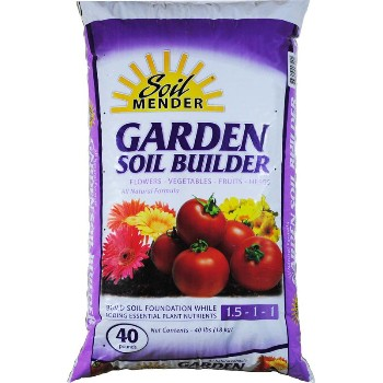 Garden Soil Builder - 40lb Bag