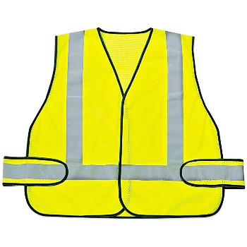 Honeywell/Sperian RWS-50004 Safety Vest, Fluorescent Yelllow