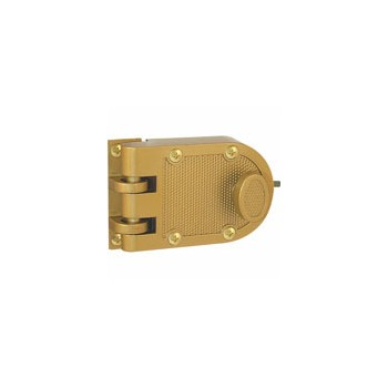 Brass Sgl Cyl Deadlock