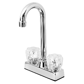 Bar Faucet 2 Handle Chrome