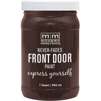 Express Yourself Front Door Satin Paint, Grounded ~ Quart