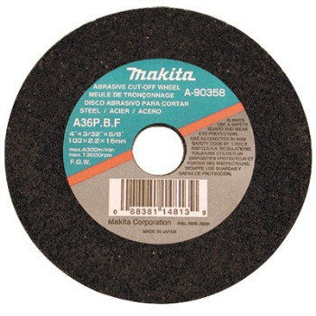 Makita B-10849-5 5pk 14in. Cutoff Wheel