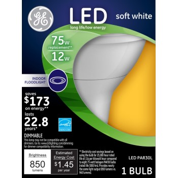 LED Indoor Floodlight Bulb ~ 75w
