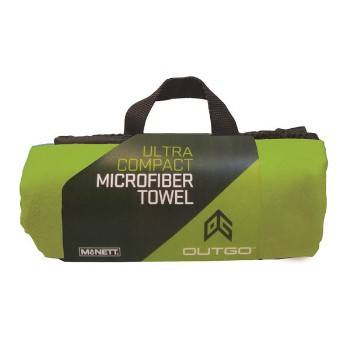 Microfiber Towel, 20 x 40 in., OG Green