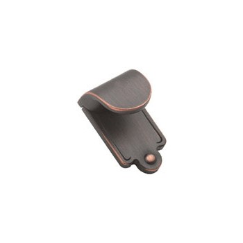 Finger Pull - Oil Rubbed Bronze Finish - 1 7/8 inch