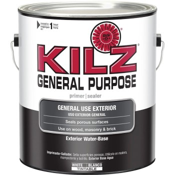 Killz Gerneral Purpose Exterior Primer/Sealer, White ~ Gallon