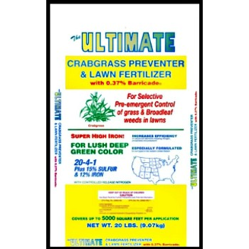 Ultimate Crabgrass Preventer W/Barricade, 20 lbs.