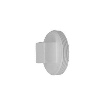 Genova Prod 71830 PVC Threaded Plug, 3 inch