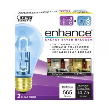 Energy Saving Bulb,Clear ~ 43 Watt