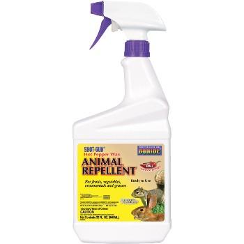 Bonide 127 Hot Pepper Wax Animal Repellent ~ Quart Spray