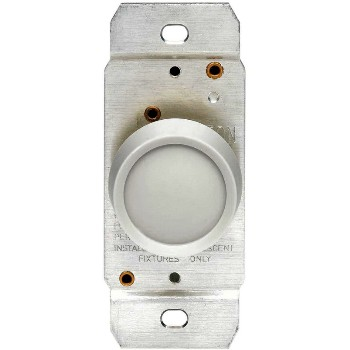 Leviton  Rotary Dimmer Switch ~ White