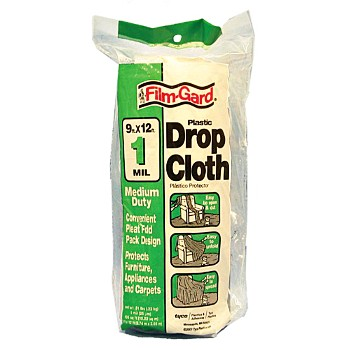 Drop Cloth - 9 x 12' ~ 1 Mil