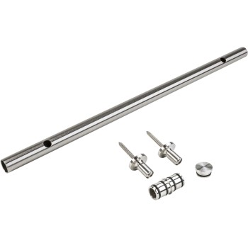 Track Extension Kit, Stainless Steel ~ 24""