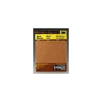 "3M 051144090402 Garnet Mineral Sandpaper Sheets, Assorted Grits ~ 9"" x 11"""