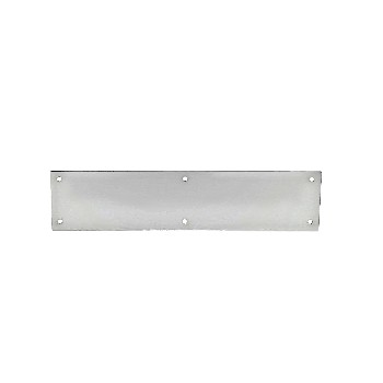"Push Plate, Satin Nickel ~ 13.5"" x 15"